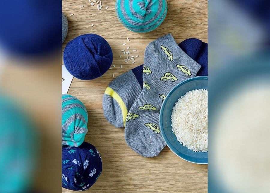 How to make a stress ball using a sock