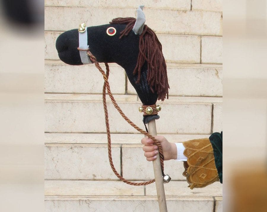 Sock Hobby Horse DIY Fit For A King