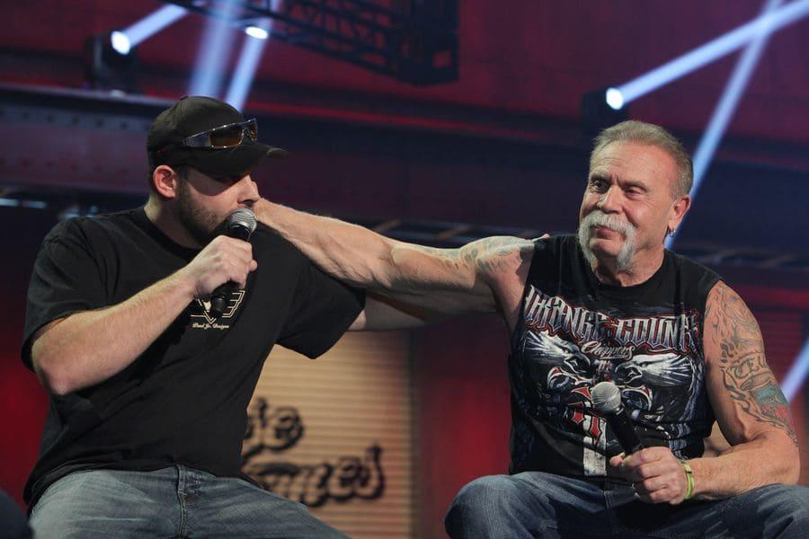 Paul Sr. and Paul Jr.