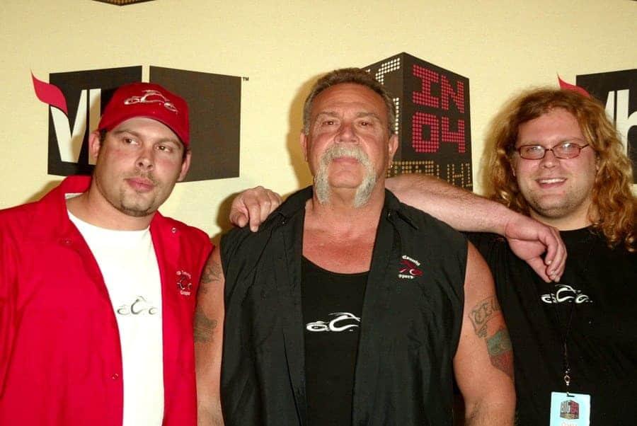 Paul Jr., Paul Sr., and Mikey Teutul