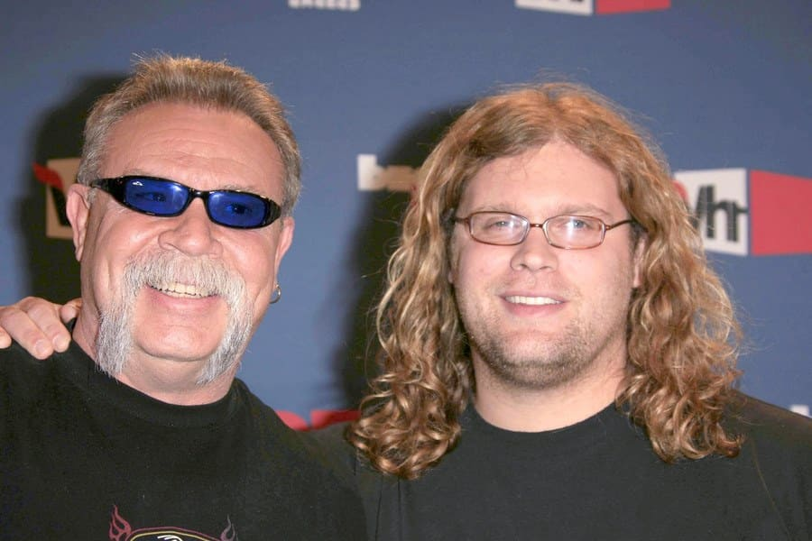 Paul Sr. and Mikey