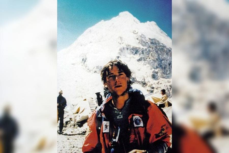 Bear Grylls on Everest