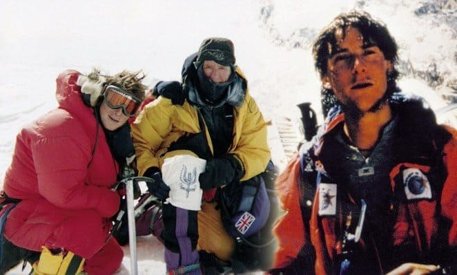 Bear Grylls conquering Everest in his youth