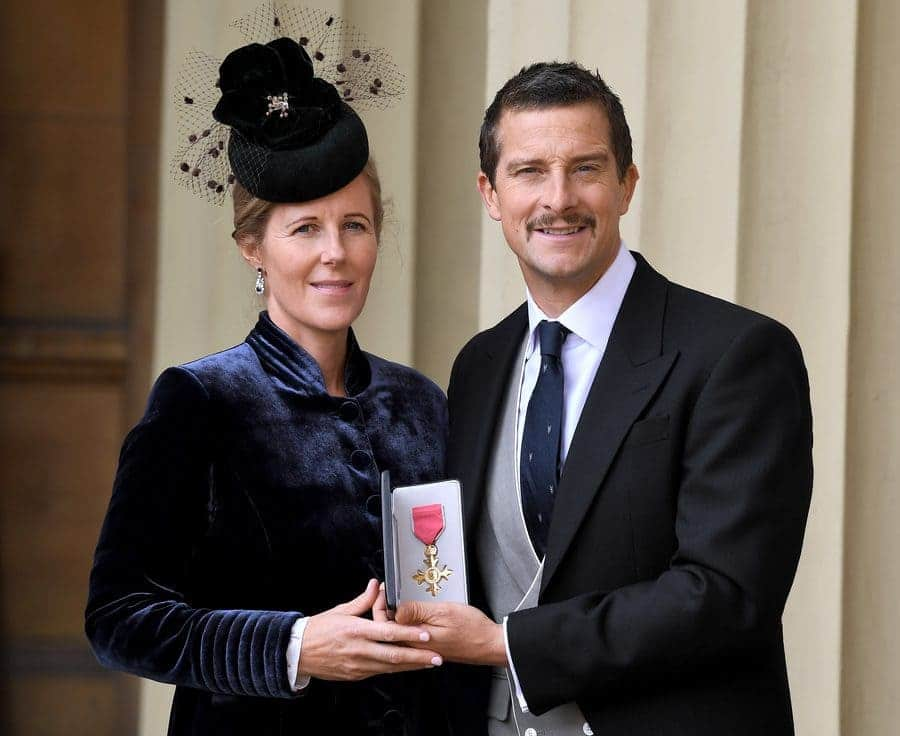 Bear Grylls, OBE, and Shara Grylls