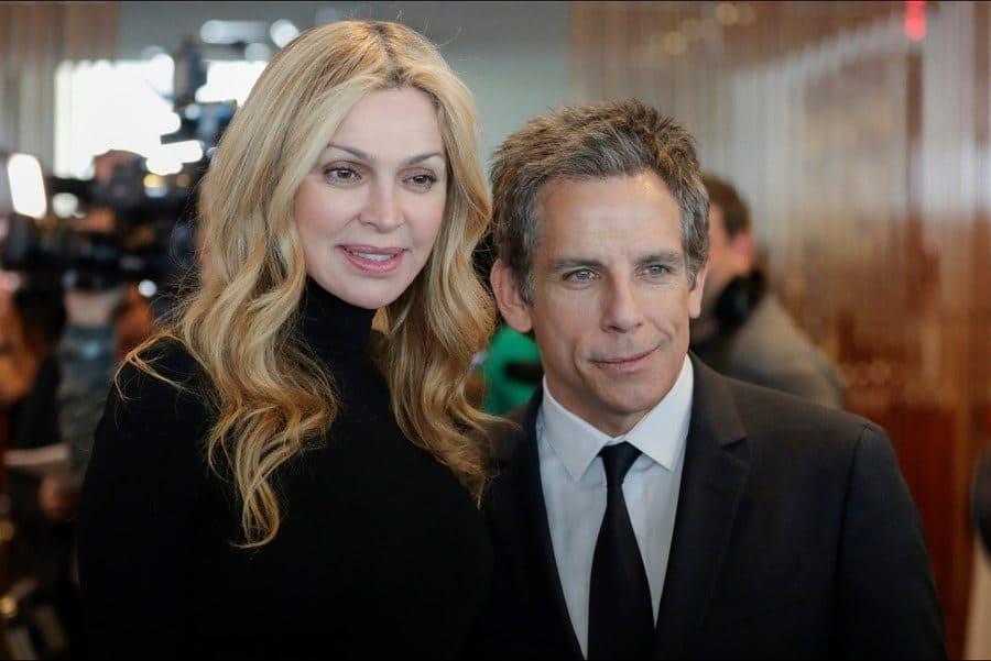 Sheikha Rima Al-Sabah and Ben Stiller