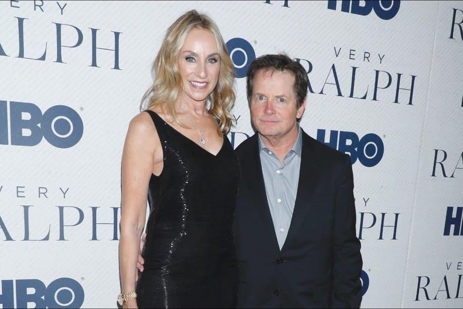 Tracy Pollan and Michael J Fox