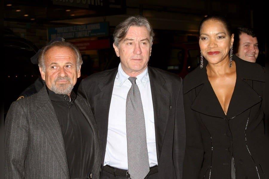 Joe Pesci, Robert De Niro and Grace Hightower