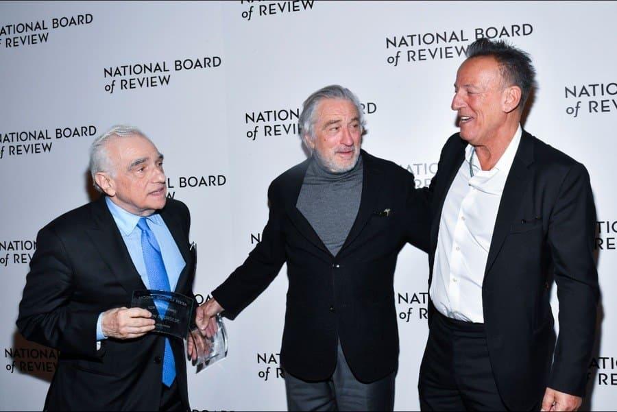 Martin Scorsese, Robert De Niro and Bruce Springsteen