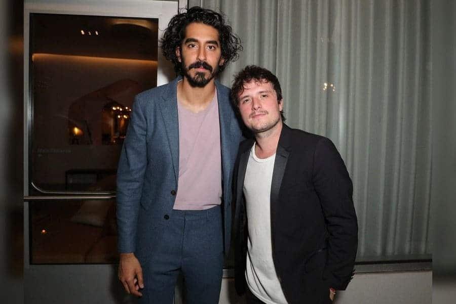 Dev Patel and Josh Hutcherson (Right)