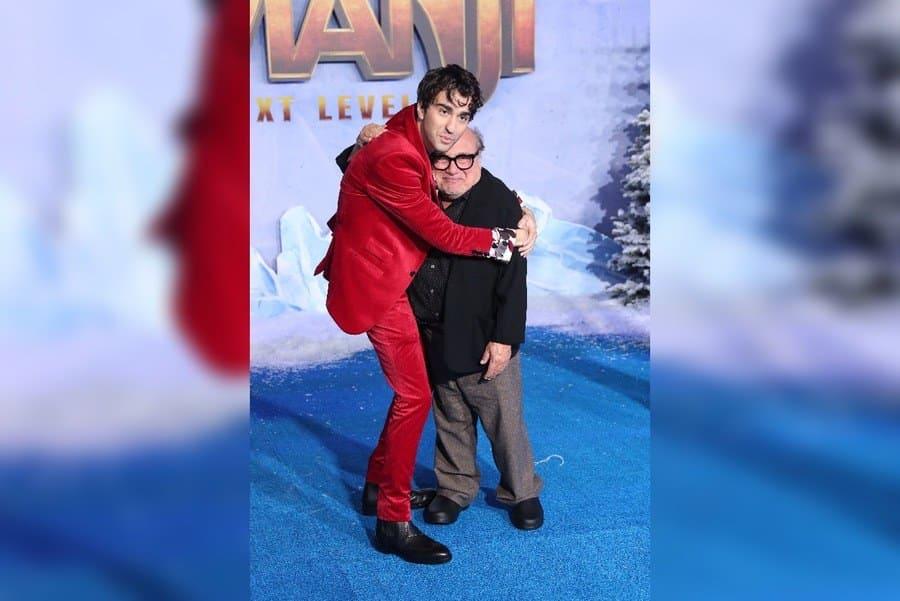 Alex Wolff and Danny DeVito
