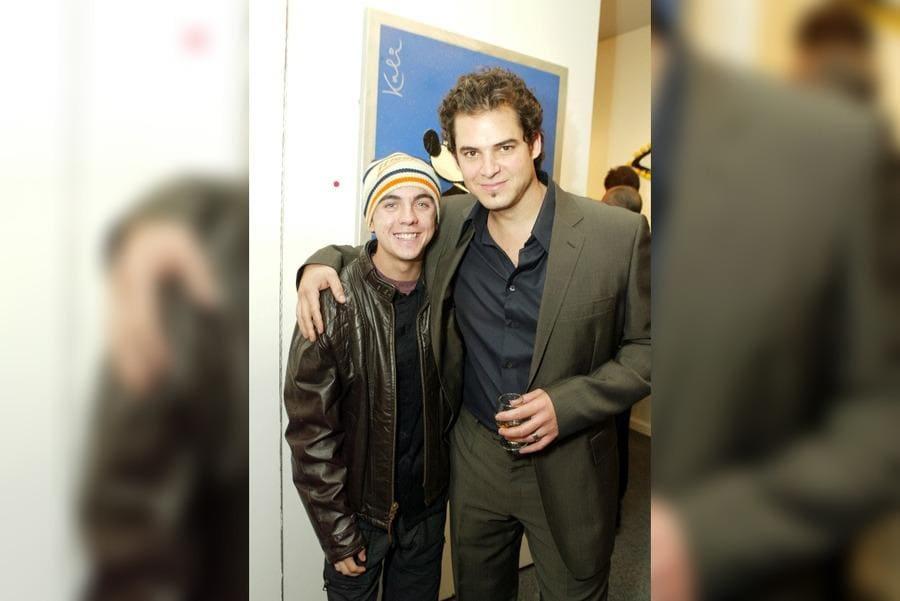 Frankie Muniz and Michael Kalish