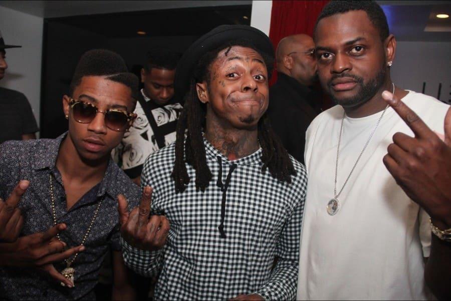 Lil Twist, Lil Wayne & Mannie Halley