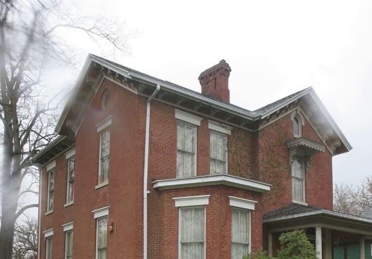 La casa de la pareja en Cleveland, Ohio