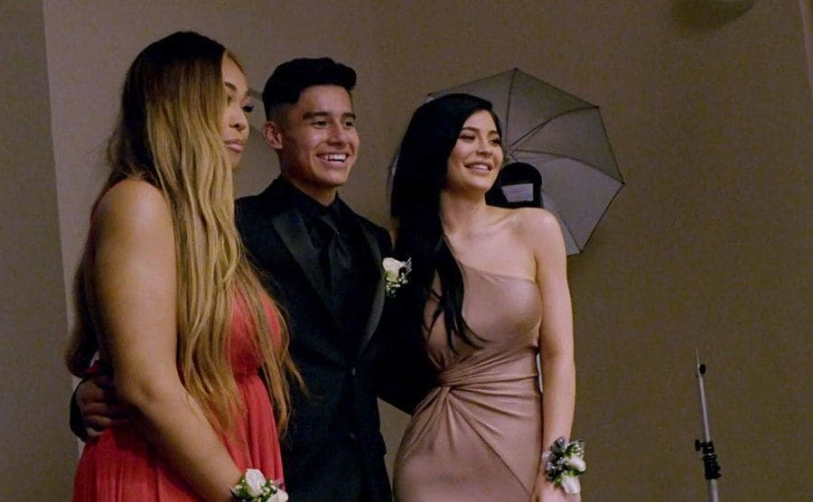Kylie Jenner, Jorda, and their prom date