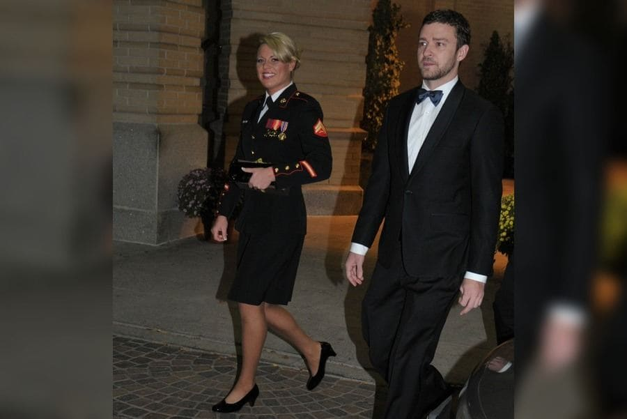 Justin Timberlake and Kelsey De Santis