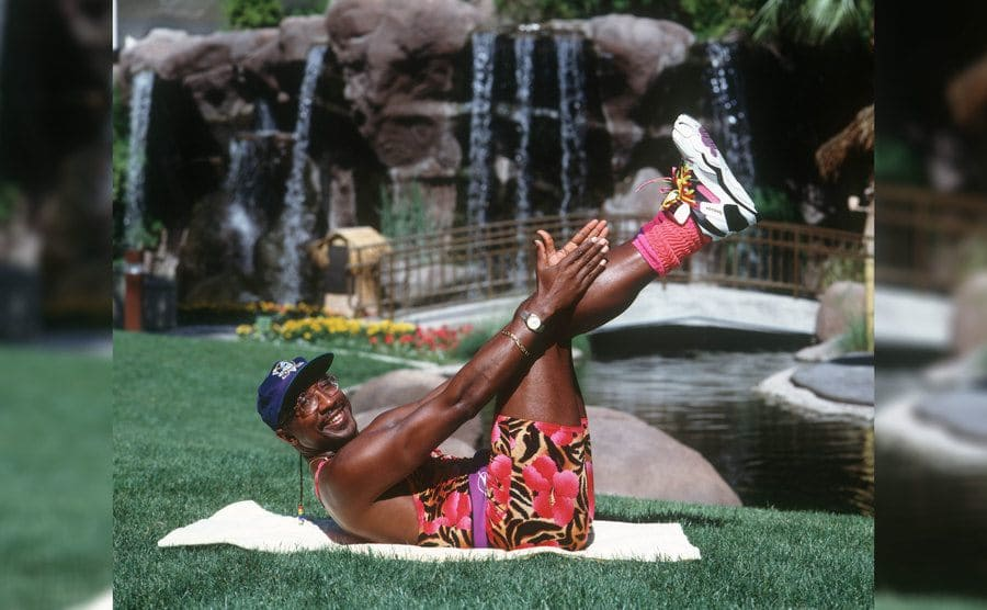 Derrick Evans, known as Mr. Motivator