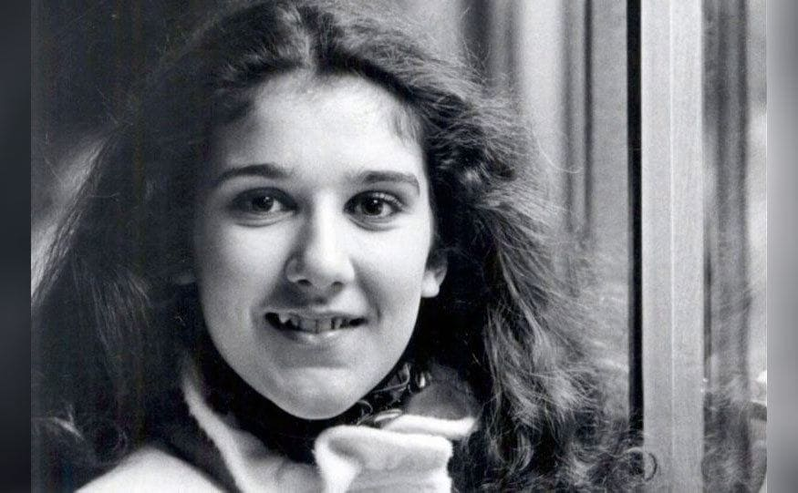 Celine Dion as a young girl, 1982.