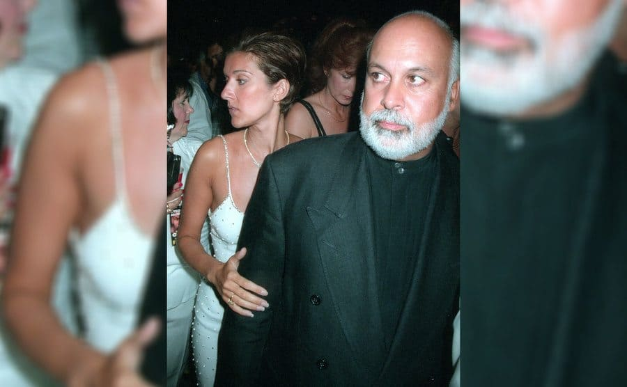 Celine Dion and Rene Angélil in New York