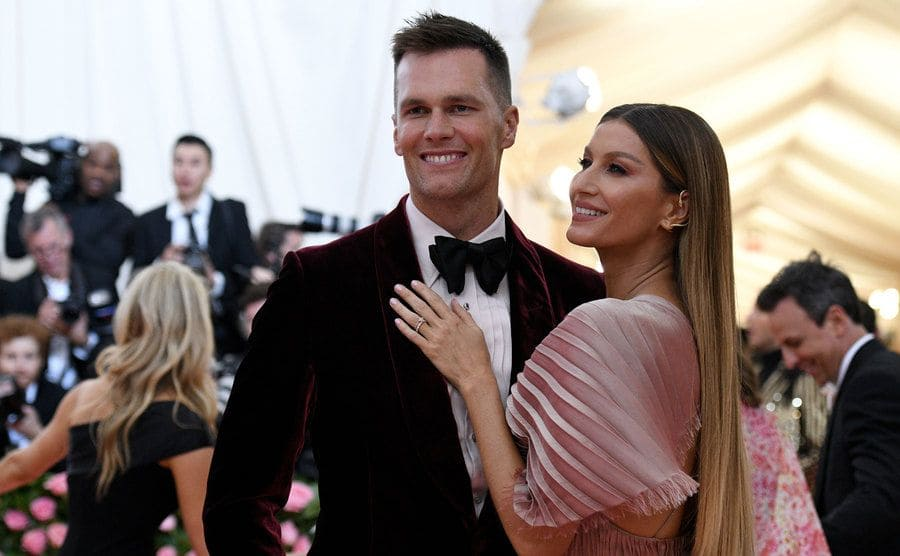 Tom Brady and Gisele Bundchen at the Met Gala in May 2019.