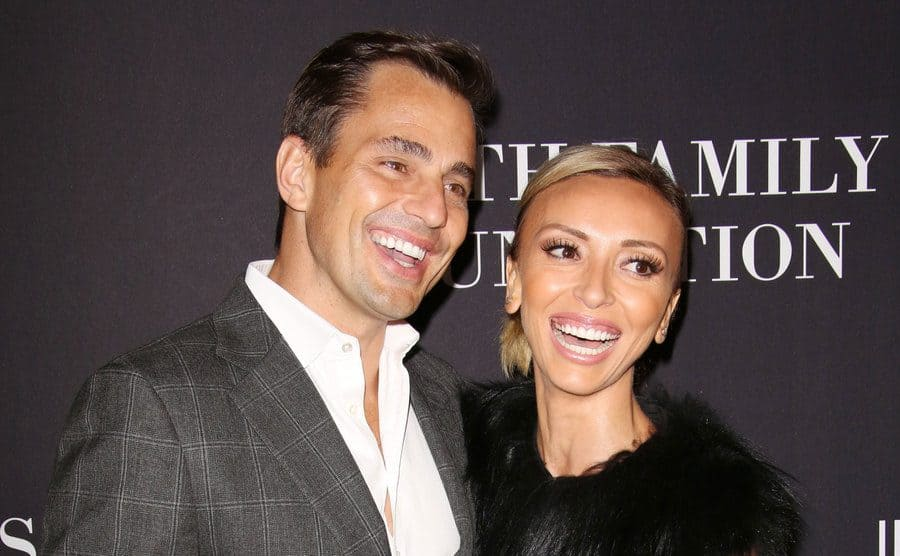 Giuliana Rancic and Bill Rancic at 'The Pink Party' in October 2014 in Los Angeles.