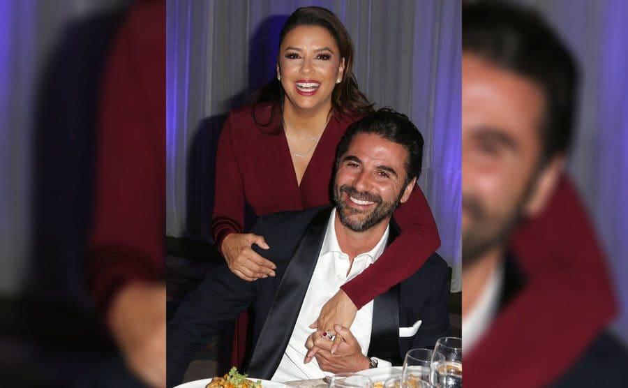 Eva Longoria and Jose Baston at the Eva Longoria Foundation Dinner Gala in November 2018.