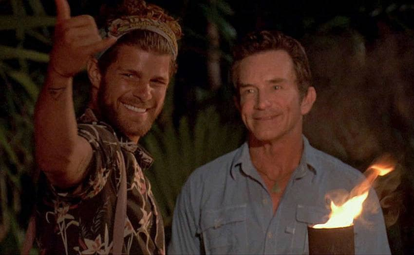 Jeff Probst and Alec Merlino