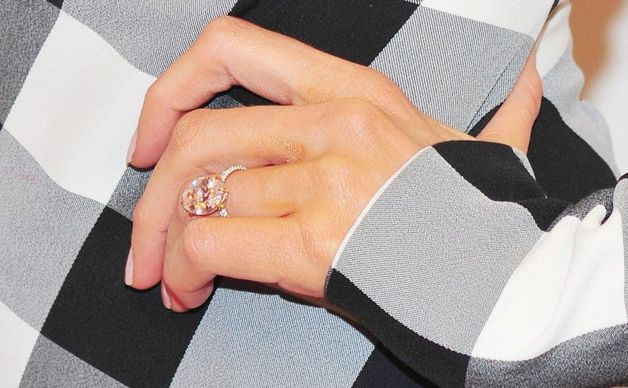 Blake Lively's engagement ring