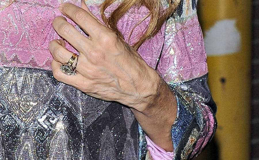 Sarah Jessica Parker's engagement ring