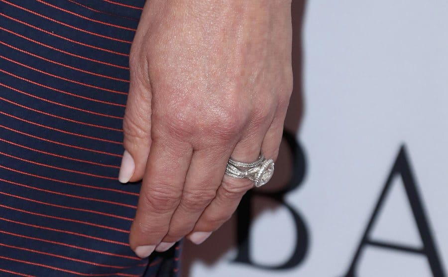 Catherine Zeta-Jones's engagement ring