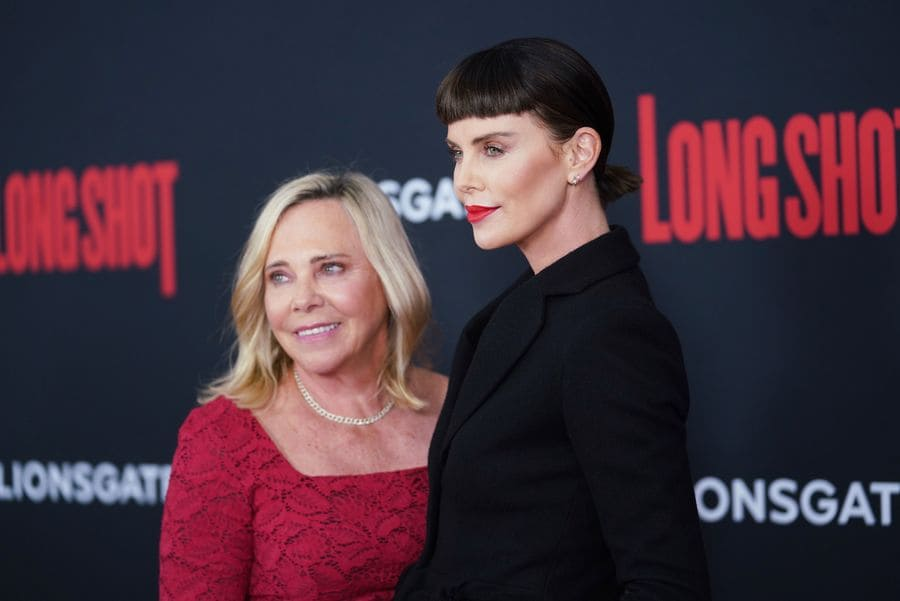 Gerda Jacoba Aletta Maritz and Charlize Theron