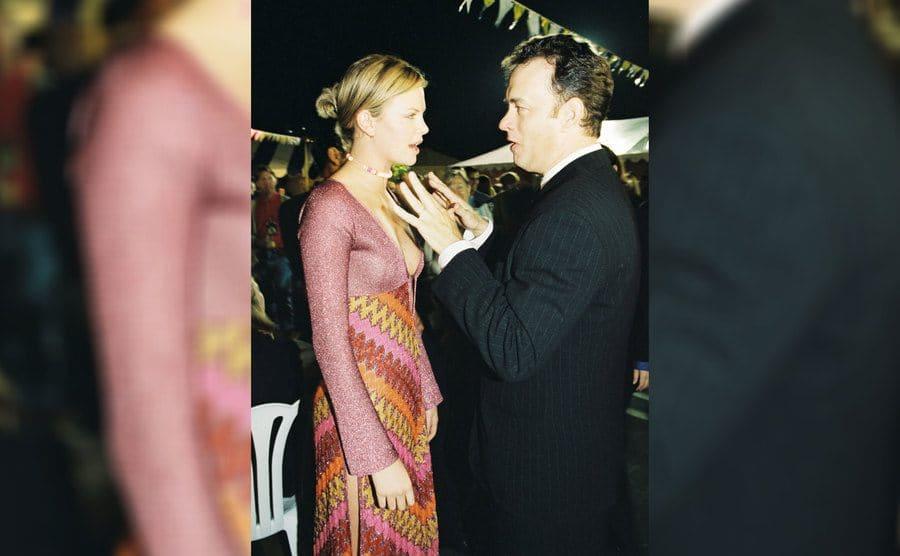 Charlize Theron and Tom Hanks