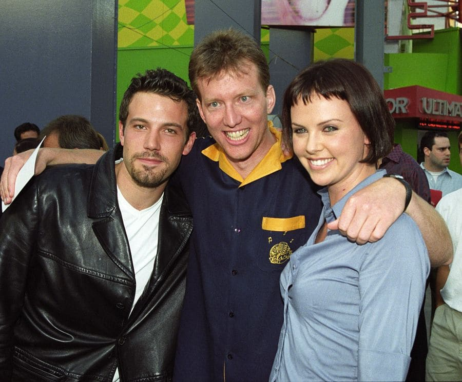 Ben Affleck and Charlize Theron