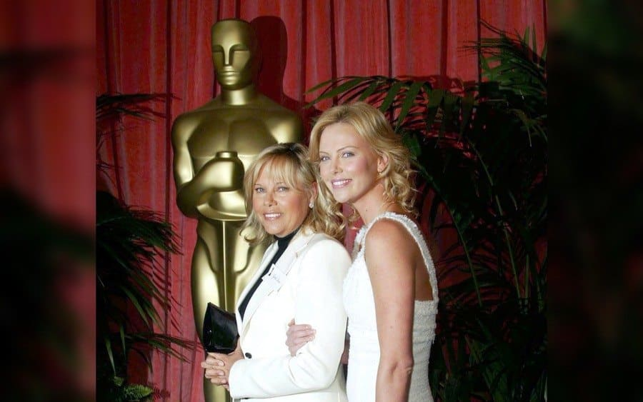 Charlize Theron and Mother Gerda, 76th Annual Academy Awards Luncheon at the Beverly Hilton Hotel, Los Angeles