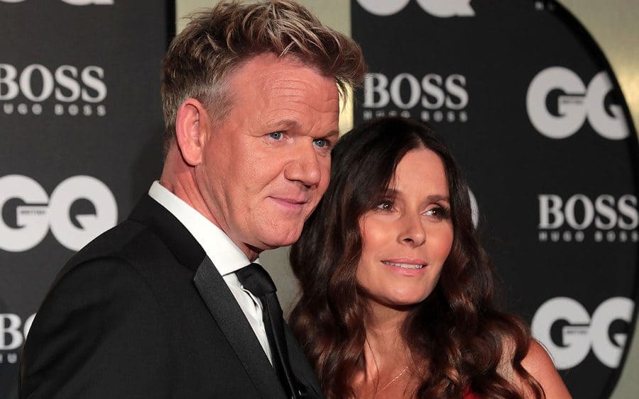 Gordon Ramsay and his wife