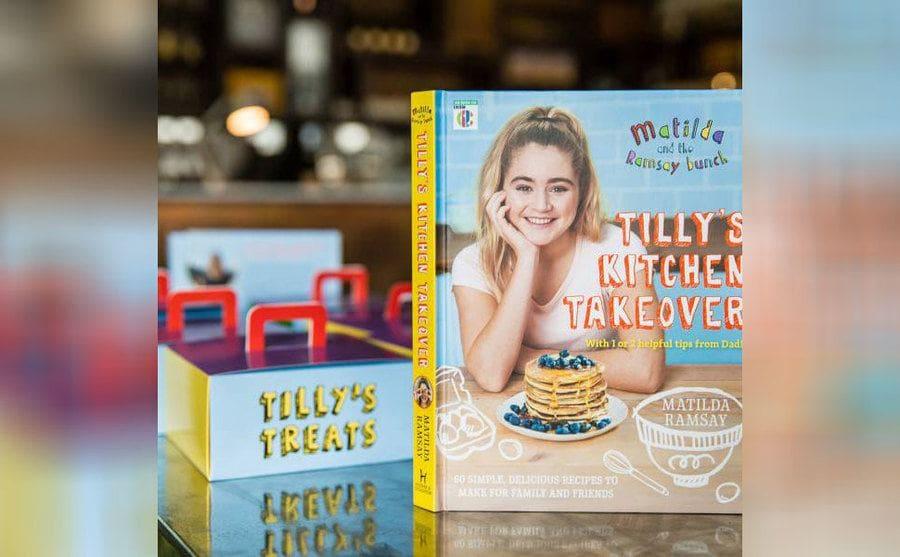 Matilda's cookbook called 'Tilly's Kitchen Takeover.'