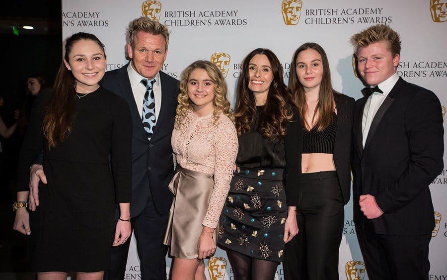 Megan, Gordon, Matilda, Tana, Holly, and Jack Ramsay.