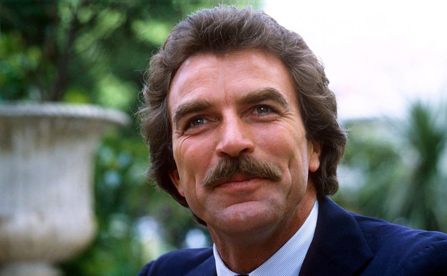 Tom Selleck on May 2nd, 1985
