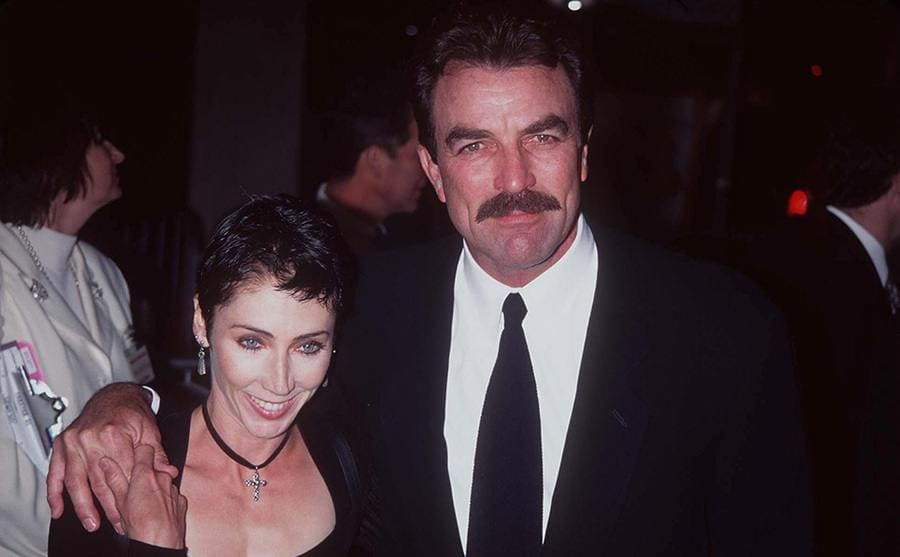Tom Selleck and Jillie 1997
