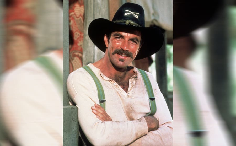 Tom Selleck in the TV show Sacketts in 1979