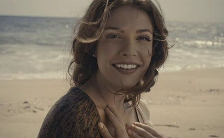 Paige Spara in a Forevermark Diamond commercial