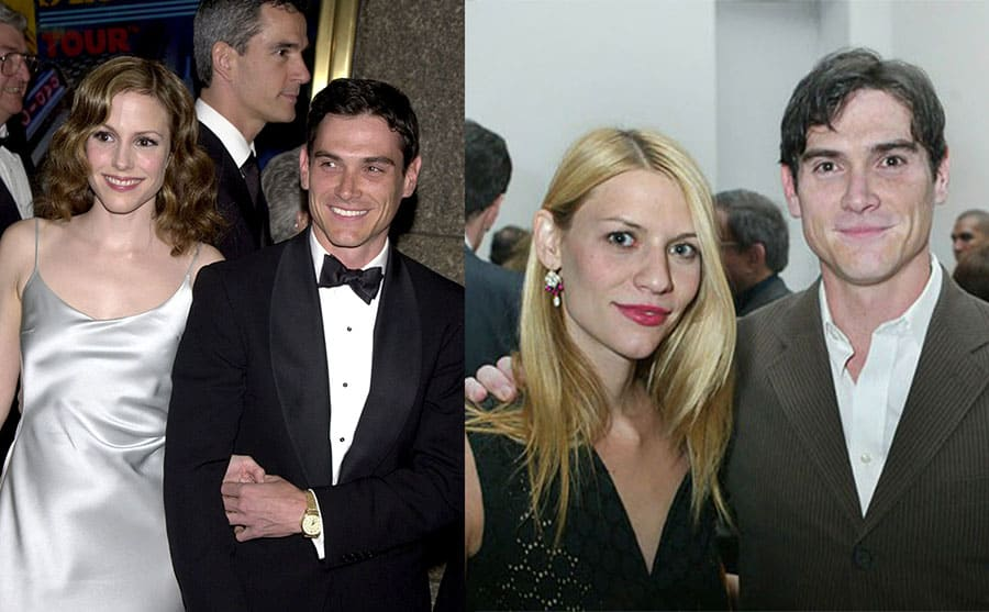 Mary Louise Parker and Billy Crudup on the red carpet in 2001 / Claire Danes and Billy Crudup at an event together