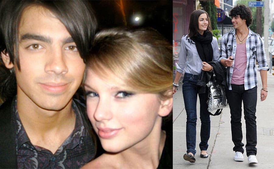 Joe Jonas and Taylor Swift / Camilla Belle and Joe Jonas out and about in 2009