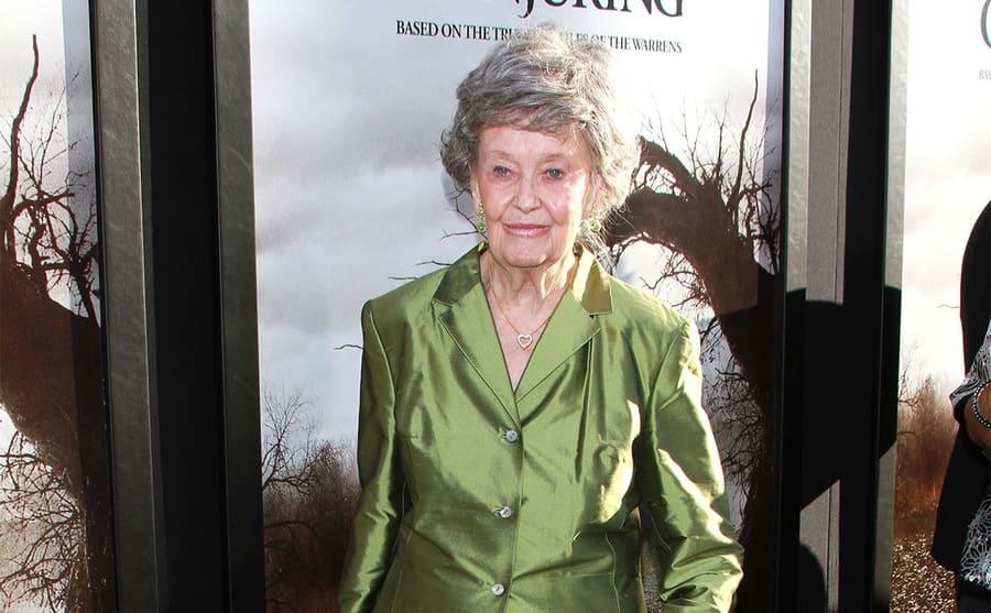 Lorraine Warren at The Conjuring film premiere in 2013