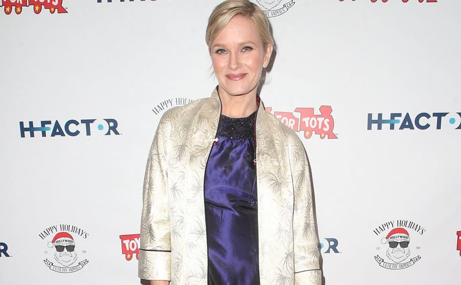 Nicholle Tom on the red carpet today