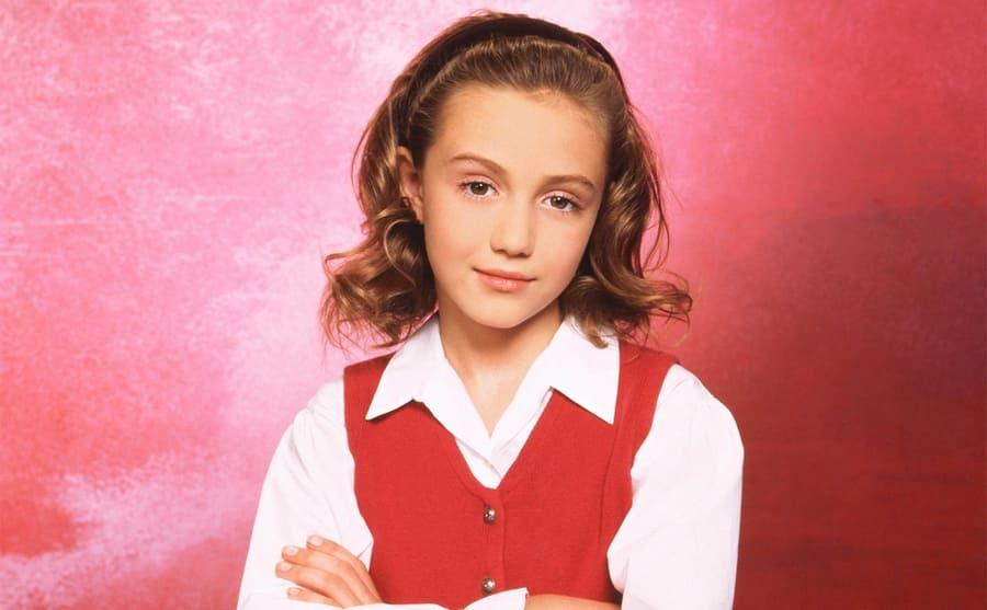 Madeline Zima as Grace Sheffield in The Nanny
