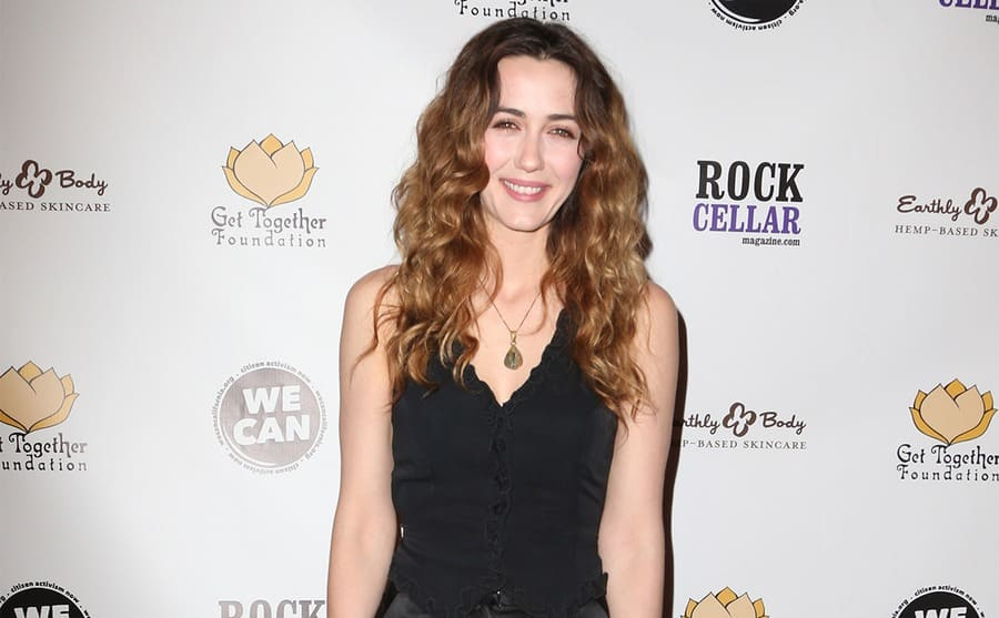 Madeline Zima on the red carpet today
