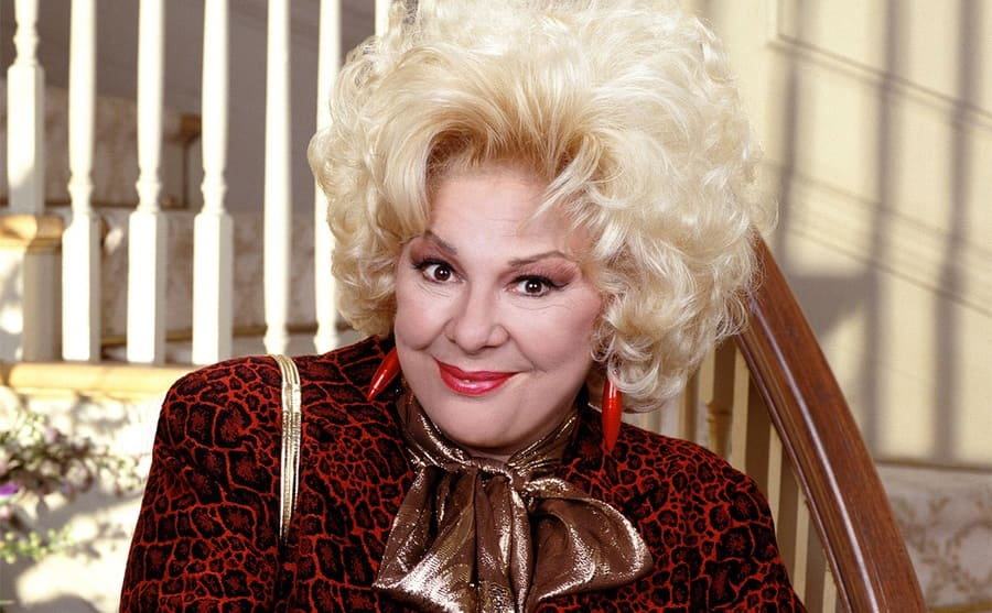 Renee Taylor as Sylvia Fine in the show The Nanny