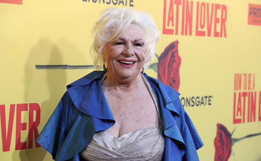 Renee Taylor on the red carpet today