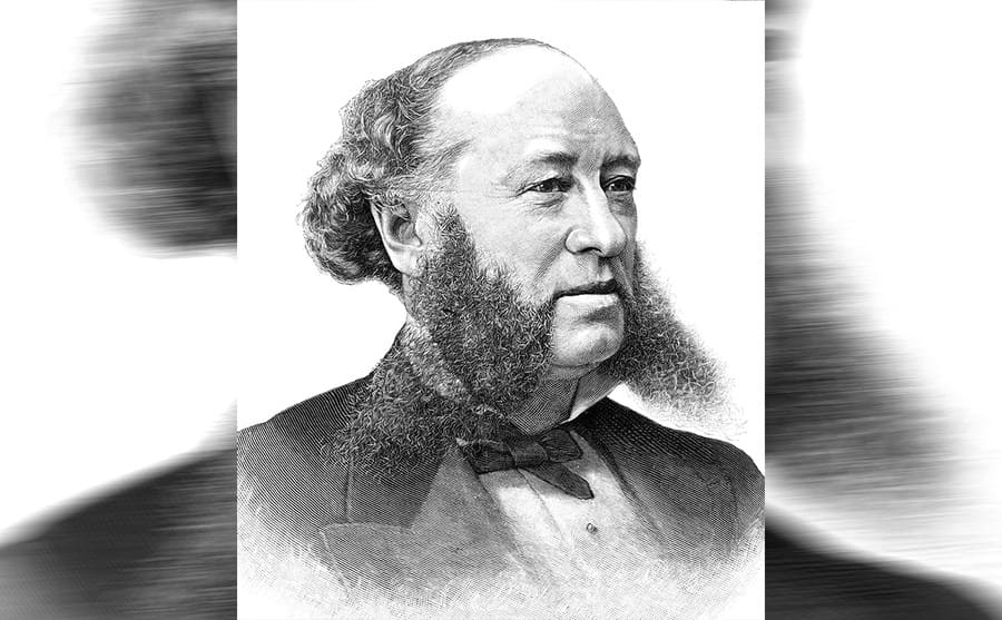 A portrait of William Henry Vanderbilt
