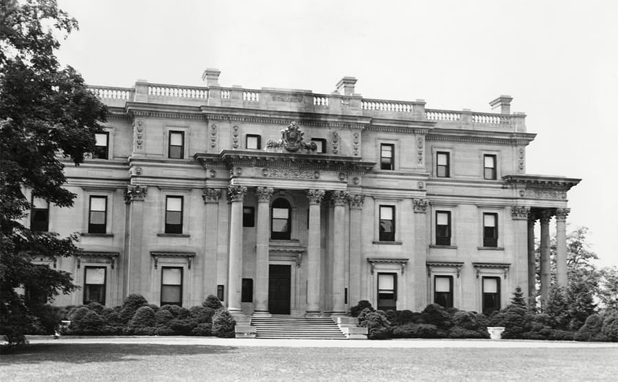 A Vanderbilt mansion circa 1939